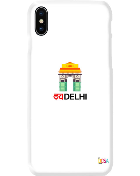 Love Delhi India Colors - Phone Case (IPhone and Samsung) - By Dosa