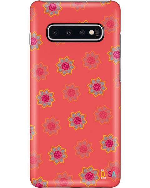 Mandala in Orange - Phone Case (IPhone and Samsung) - By Dosa