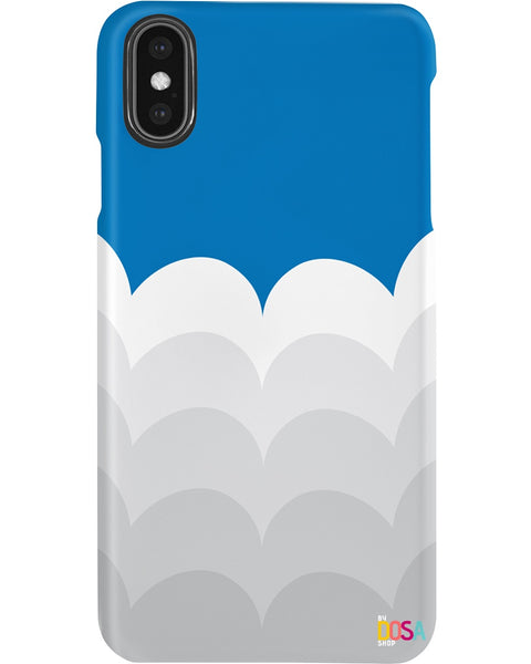 Blue Sky And Clouds - Phone Case (IPhone and Samsung) - By Dosa