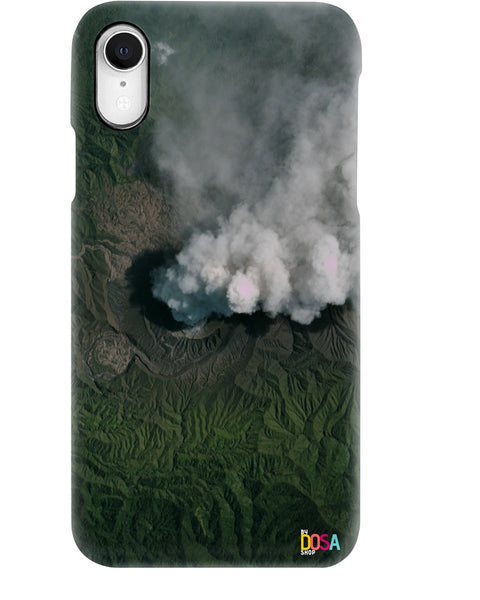 Dukono Volcano In Indonesia - Phone Case (IPhone and Samsung) - By Dosa