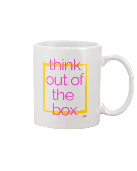 Think Out Of The Box - Mug (11oz and 15 oz) - By Dosa