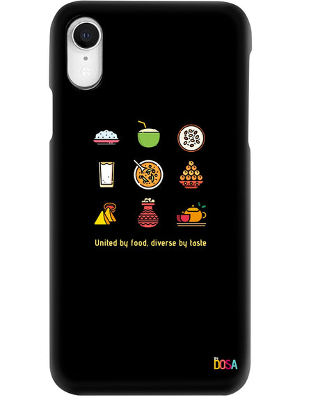 Phone Case - Unified by Food - Design by Dosa