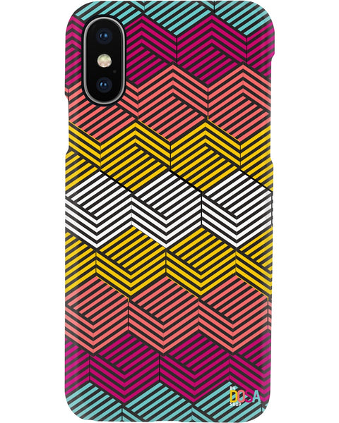 Cube In Colors  - Phone Case (IPhone and Samsung) - By Dosa