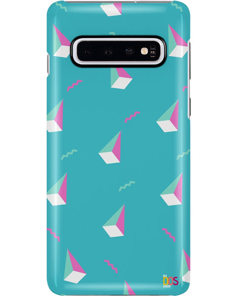 Cyan Diamond Patter - Phone Case (IPhone and Samsung) - By Dosa