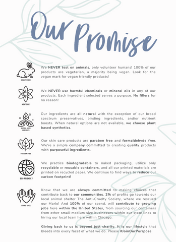 Our Company Promise , Our Commitment