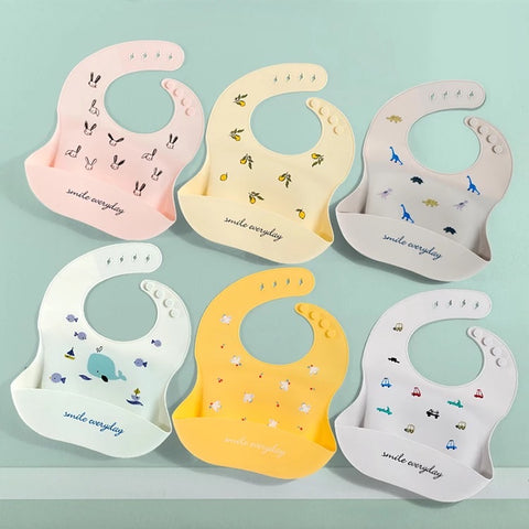 Eizzy Smile Everyday Print Bibs