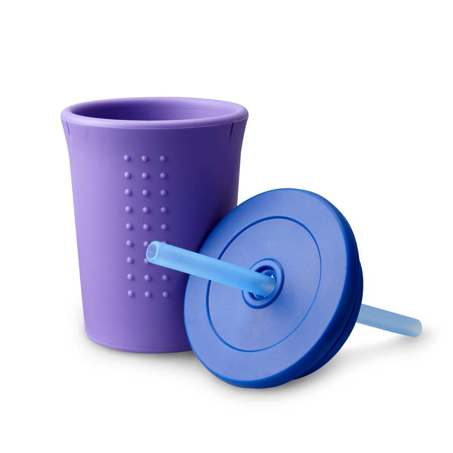 Toddler Silicone Straw Cup (12 oz.) by GoSili