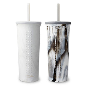 Marbled Straw Tumbler (24 oz) by GoSili