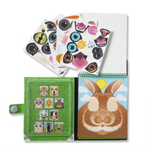 Load image into Gallery viewer, Make-A-Face Pets Reusable Sticker Pad On the Go by Melissa & Doug