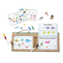 Load image into Gallery viewer, Reusable Ocean Drawing & Magnet Kit by Melissa & Doug