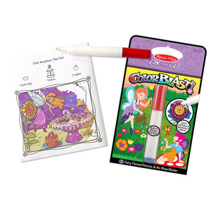Mess-Free Fairies Coloring Pad On the Go by Melissa & Doug