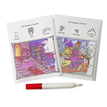 Load image into Gallery viewer, Mess-Free Princesses Coloring Pad On the Go by Melissa & Doug