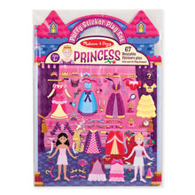 Load image into Gallery viewer, Princess Puffy Sticker Play Set by Melissa & Doug