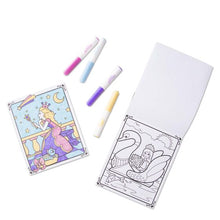 Load image into Gallery viewer, Princess Coloring Pad On the Go by Melissa & Doug