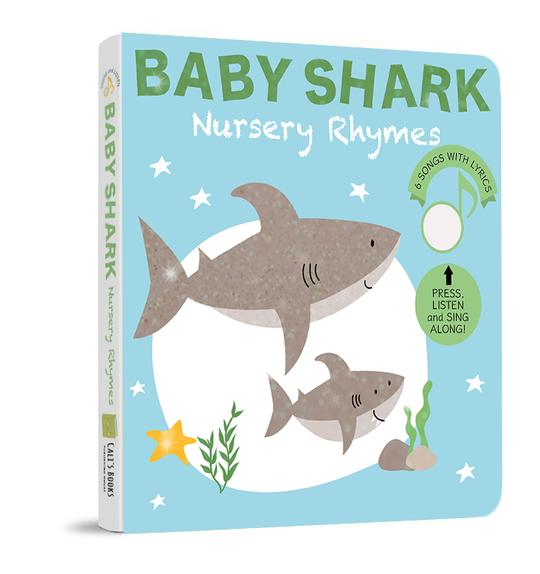Baby Shark Nursery Rhymes by Cali's Books