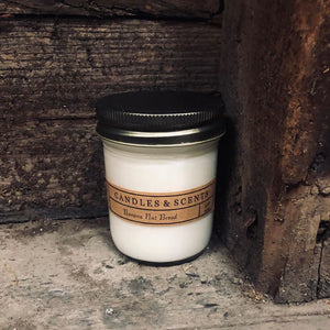 Banana Nut Bread 8 oz Candle Jar by Rural Farm Co.