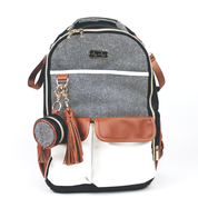 Load image into Gallery viewer, Coffee & Cream Diaper Bag Charm Pod by Itzy Ritzy