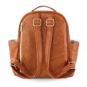 Load image into Gallery viewer, Mini Backpack in Cognac by Itzy Ritzy