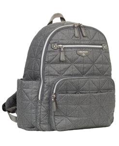 Companion Backpack in Denim by TWELVElittle
