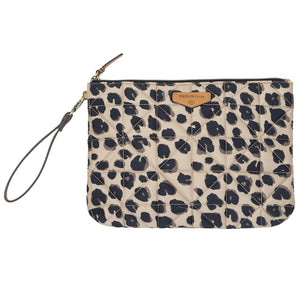 Companion Pouch in Leopard by TWELVElittle