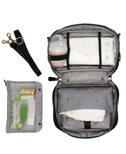 Load image into Gallery viewer, Diaper Clutch in Black by TWELVElittle