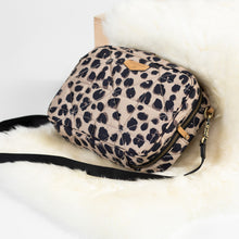 Load image into Gallery viewer, Diaper Clutch in Leopard by TWELVElittle