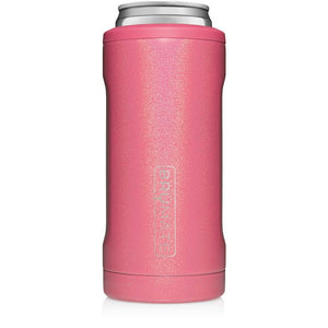 Glitter Pink Hopsulator Slim (12 oz) by Brumate