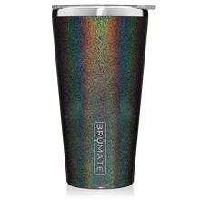 Load image into Gallery viewer, Glitter Charcoal Imperial Pint (20 oz)