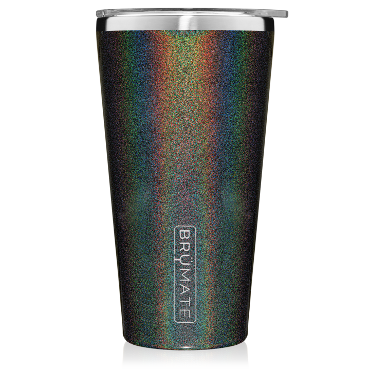 Glitter Charcoal Imperial Pint (20 oz)
