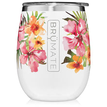 Load image into Gallery viewer, Hibiscus Uncork'd Tumbler (14 oz) by Brumate
