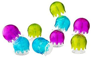 Jellies Suction Cup Bath Toy (Green Multi) by Boon