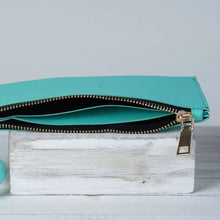 Load image into Gallery viewer, Turquoise Bracelet Keychain and Wristlet with Tassel by Lauren Lane
