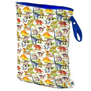 Large Wet Bag in Dino Mite by Planet Wise