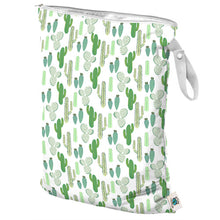 Load image into Gallery viewer, Large Wet Bag in Prickly Cactus by Planet Wise