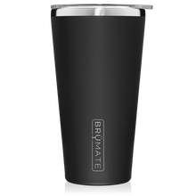 Load image into Gallery viewer, Matte Black Imperial Pint (20 oz) by Brumate