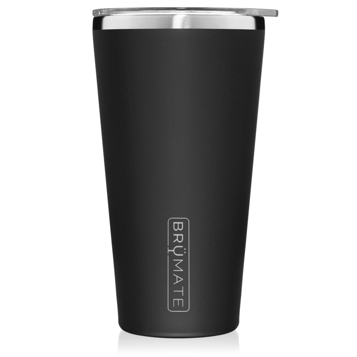 Matte Black Imperial Pint (20 oz) by Brumate