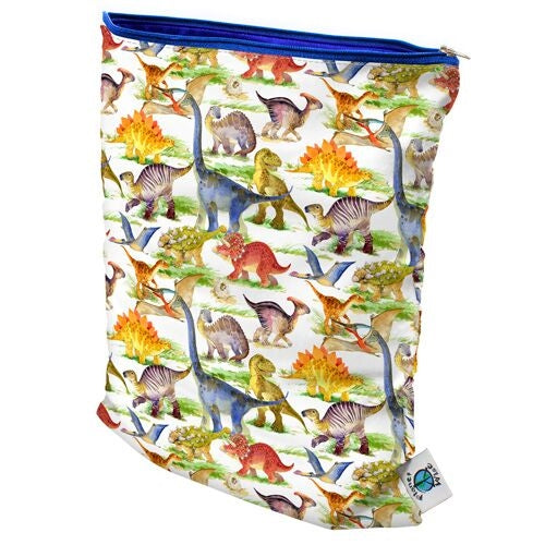Medium Wet Bag in Dino Mite by Planet Wise