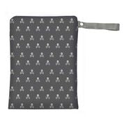 Skull Sealed Medium Wet Bag with Handle by Itzy Ritzy