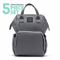 Metropolitan Backpack Diaper Bag by Soho Collections