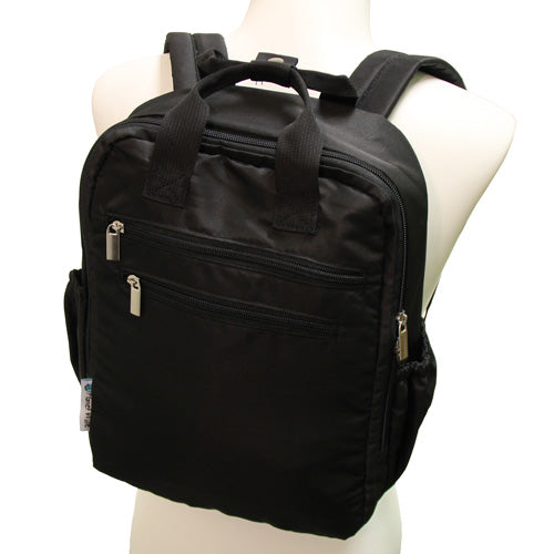 Perfect Backpack in Black by Planet Wise