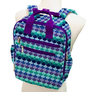 Perfect Backpack in Mermaid Tail by Planet Wise