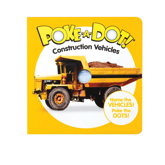 Poke-A-Dot Construction Vehicles Book by Melissa & Doug