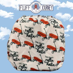 They See Me Rollin' Diaper by Fluff Journey