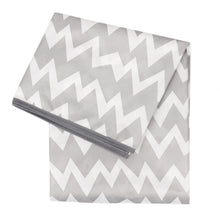 Load image into Gallery viewer, Gray Chevron Splat Mat
