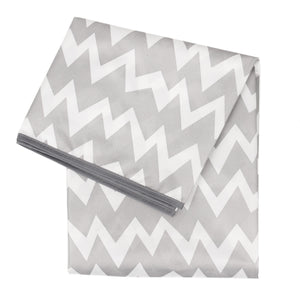 Gray Chevron Splat Mat