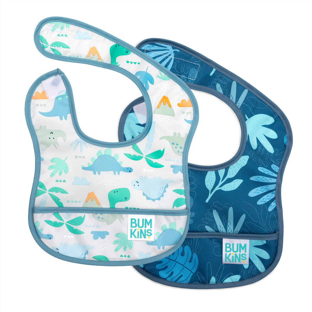 Blue Tropic Starter Bib (2 pack)