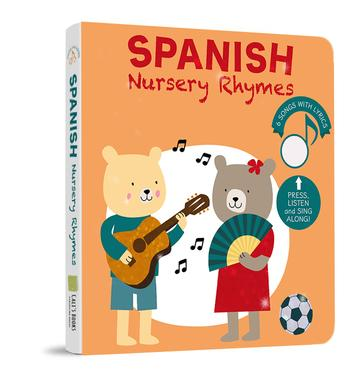 Spanish Nursery Rhymes by Cali's Books