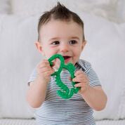 Load image into Gallery viewer, Dino Silicone Teether