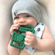 Load image into Gallery viewer, Latte Silicone Teether