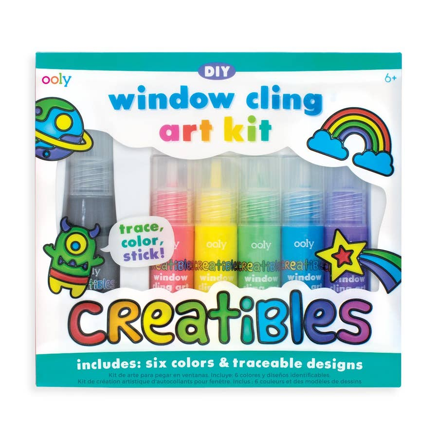 Window Cling Art Kit by Ooly
